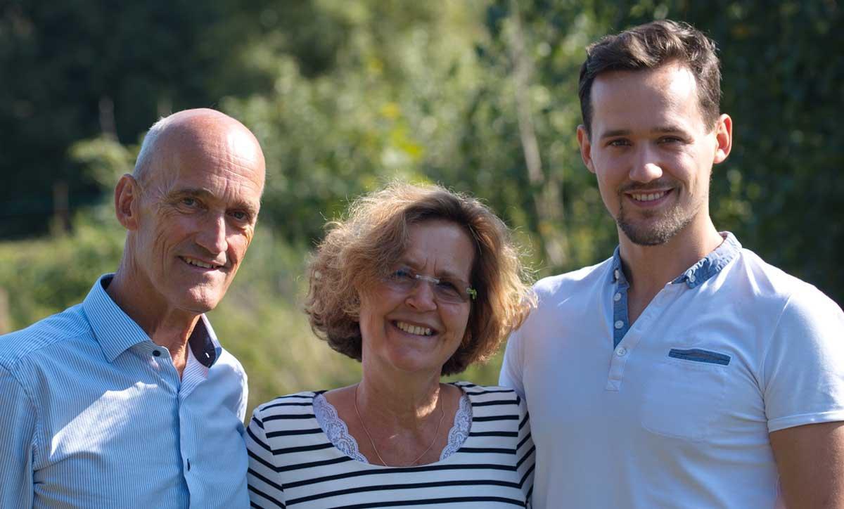 Foto von Dr. Michael Fleischhauer, Christine Fleischhauer und Finn Fleischhauer
